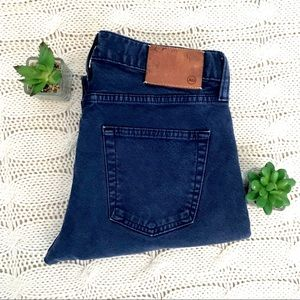 {AG} The Matchbox Slim Straight Button Fly Jeans